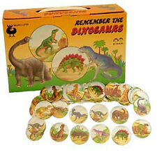BUKI Remember The Dinosaurs - Childrens Memory Game - No Reading Required Age 4+
