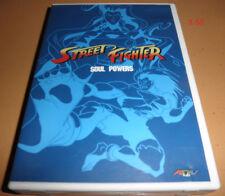 STREET FIGHTER Anime Series DVD Soul Powers rare ADV usa release