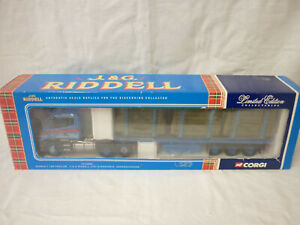 Corgi Modern Truck/Haulage CC12806 Scania T-cab Flatbed & Log Load J & G Riddell