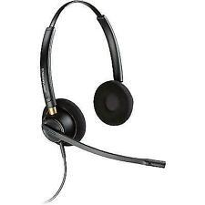 Plantronics EncorePro HW520 Black Headband Headsets