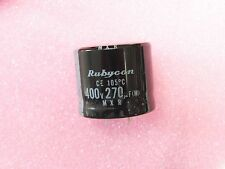 Capacitor Condensateur Chimique Snap-in 270uF 270µF 270MF 400V 105° Rubycon