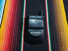 Startac Motorola Flip Cell Phone Black Fast Shipping Vintage Good Used