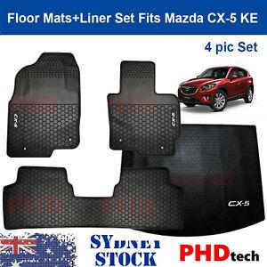 Premium Quality All weather rubber floor mats+ liner set Mazda CX-5 KE 2012-2017