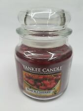 YANKEE CANDLE BLACK CHERRY 1 WICK 14.5 OZ CANDLE