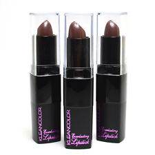 Kleancolor 3 x #716 Brown Shimmer Everlasting Cream Color Lipstick KLSET18