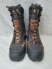 RED WING Irish Setter Camo Hunting Boots UltraDry  Leather 11 D 600 Gram EUC 11""