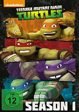 4 DVDs * TEENAGE MUTANT NINJA TURTLES - STAFFEL / SEASON 1  ~ MB # NEU OVP =