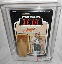 VINTAGE STAR WARS ROTJ PRUNE FACE 77 BACK A AFA 80-Y 80/85/85 KENNER 1983