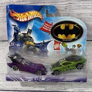 Batman Official Hot Wheels Action Pack Purple Batmobile & The Riddle Car 2003
