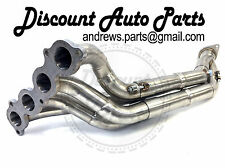 PLM K-Series K20 Exhaust Header Honda Civic Si 06-11 FG FD FA Tri-Y w/ Test Pipe
