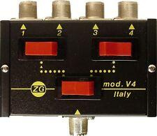 Zetagi V4 4-Way CB Radio Antenna Coax Switch