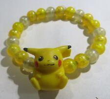 Bracelet jaune avec ours