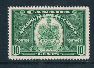 Canada - 1939 - 10¢ Special Delivery - Green - SC E7 [SG S9] MINT - VLH H9