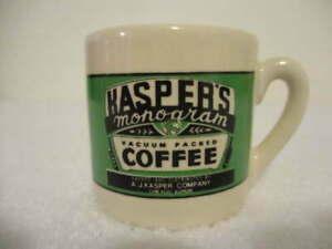 Yesteryear By Westwood Miniature Jaspers Coffee Cup Mug