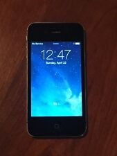UNLOCKED Black iPhone 4S 16GB A1387 Charger Cord Bundle Smart Cell Travel Device