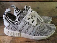 Adidas NMD R1 PK Glitch Camo Oreo White Black Mens Shoe Size 12 NEW BY1911 Boost