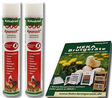 2x Röhnfried Aparasit-Spray, 750ml - Ungeziefermittel - @@@HEKA: 2x Art. 23253