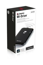 Kingston Wi-Drive Wireless Storage Solution for iPad, iPhone iPod touch WID/32GB