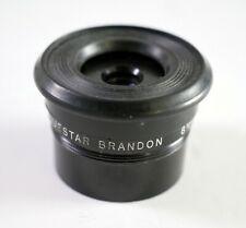 "Brandon Questar 8mm 1.25"" Eyepiece with Rubber Eyecup Vintage"