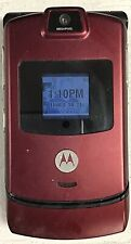 New listing Motorola Razr V3m - Maroon (Unlocked) Cellular Phone