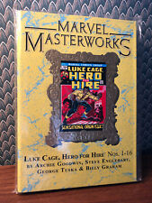 MARVEL MASTERWORKS LUKE CAGE HERO FOR HIRE SIGNED BY TONY ISABELLA & TOM ORZ