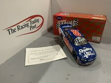 1998 Dale Jarrett Quality Care 1/24 Action RCCA CWB NASCAR Diecast Autographed