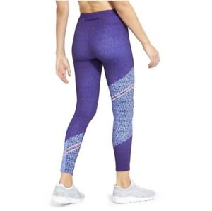 Athleta Asym Camo Sonar 7/8 Tights Leggings Women's XS Multicolor EUC!!