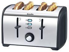 Breville Polished Stainless Steel 4-Slice Toaster VTT377