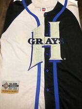 Vintage J-Head Homestead Grays #46 Negro League Baseball Jersey Men XL