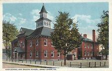 High School & Grade School in Jersey Shore Pa Old