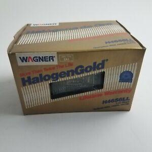 Wagner H4656LL Long Life Sealed Beam Headlamp Headlight Light Bulb New Old stock