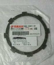 GENUINE YAMAHA 598-16321-01 Friction Plate 1976-2013 TTR125LE, MX100H, DT100J