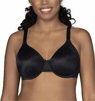 Vanity Fair Women's Beauty Back Smoothing Minimizer, Midnight Black, Size 34G Wj