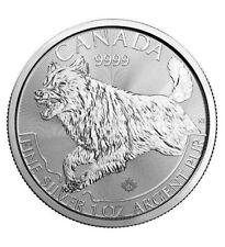 Silbermünze Kanada Canada 2018 Predator Wolf 5 Dollars 1 oz (Feinsilber 31,1 g)