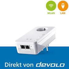 devolo dLAN 1200+ WiFi ac, 1 Powerline Adapter, WLAN Verstärker, 1200 Mbps