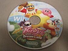 == KIRBY'S RETURN TO DREAM LAND NINTENDO Wii GREAT GAME VERY RARE ==