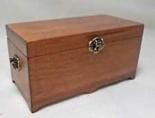 Dollhouse Miniature Warm Wood Blanket Chest