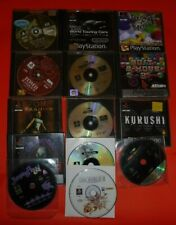 PS1 PSONE LOTTO 15 G CRASH BANDICOOT DISCWORLD II MUPPET RACEMANIA JUMPING FLASH