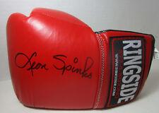 Ringside Leon Spinks Signed Boxing Glove 10oz W Certified Holigram Stamp