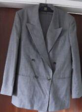 Debenhams Mens Grey 2-piece Suit 32W trousers, 38-40 Chest Regular, VGC