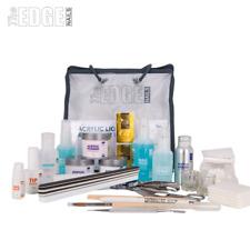 The Edge NAILS Full Acrylic Liquid and Powder Starter Kit False Tips Student Kit