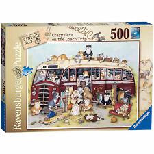 Ravensburger Crazy Cats - Vintage Bus 500pc Jigsaw Puzzle