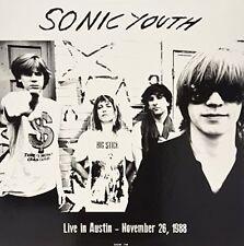 Sonic Youth Live in Austin November 1988 180gm Vinyl LP