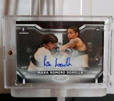2020 TOPPS UFC KNOCKOUT MARA ROMERO BORELLA 1ST AUTOGRAPH! ROOKIE /99