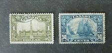 Canada Stamp #158/159  U