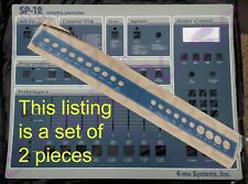 Full Set: SP-12 Replacement Faceplate + Jackplate Overlays for E-mu SP12 - NEW!