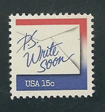 Scott # 1810....15 Cent...Letters....20  Stamps
