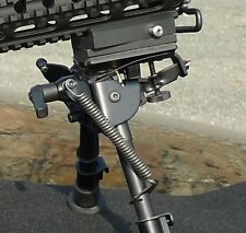 """Harris Bipods - HBLMS Combo includes HBLMS bipod, RBA-1 adapter and the """"S"""" lock"""