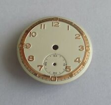 Watchmaking Dial Watch Curved Grey Diameter 1 1/16in Cal. Hs 101/2