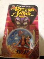 Disney RETURN OF JAFAR 1994 WALT DISNEY'S HOME VIDEO VHS
